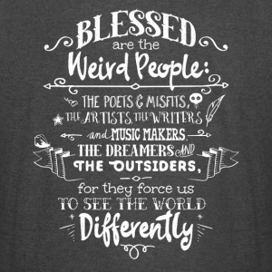 Blessed Weird People T-Shirts - Vintage Sport T-Shirt