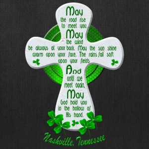 Nashville Irish Blessing Cross Tote Bags - Tote Bag