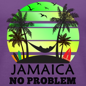 Jamaica No Problem Tanks - Women's Premium Tank Top