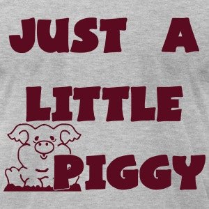 0212 - Lil Piggy  - Men's T-Shirt by American Apparel