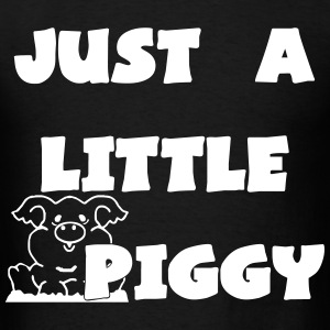 0212 - Lil Piggy  - Men's T-Shirt