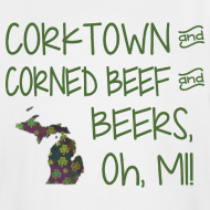 Design ~ Corktown and Corned Beef and Beers, Oh, MI!