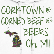 Design ~ Corktown and Corned Beef and Beers, Oh, MI!