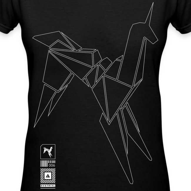 DO ANDROIDS DREAM WOMEN'S V-NECK T-SHIRT BY LAT