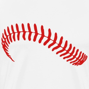 baseball stitch - Men's Premium T-Shirt
