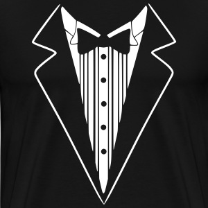 Tuxedo Jacket Costume  T-Shirts - Men's Premium T-Shirt