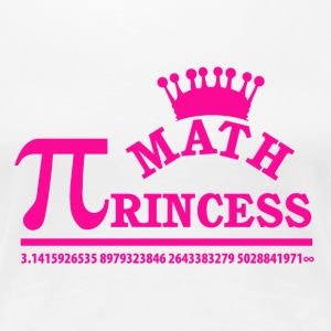 Math Princess - Women's Premium T-Shirt