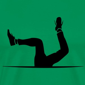 Headstand to nowhere Shirt - Men's Premium T-Shirt