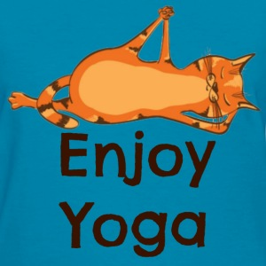 Enjoy Yoga  - Women's T-Shirt