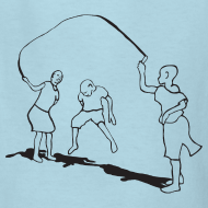 Design ~ kids-skipping