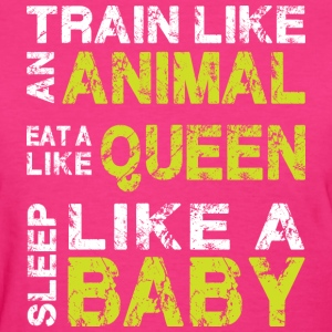 Train Eat Sleep - Women's T-Shirt