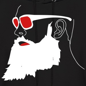 bearded man - Men's Hoodie