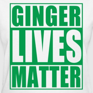 Ginger Lives Matter Movement  Women's T-Shirts - Women's T-Shirt