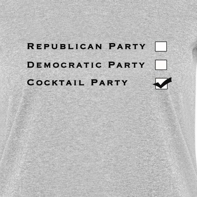 Partidos Políticos - Letra Nega