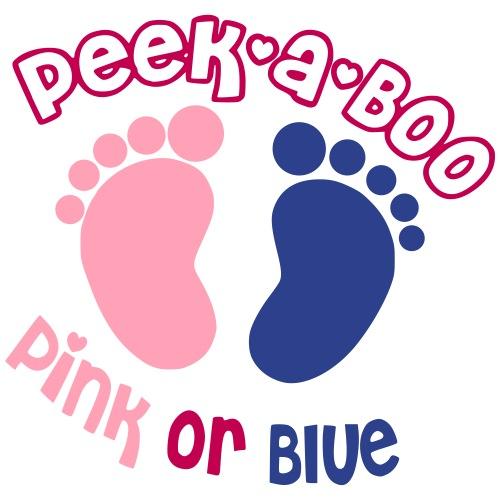 Peek-a-Boo Pink Or Blue