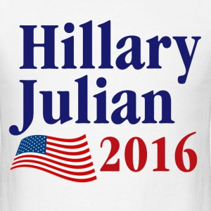 Hillary Julian 2016 T-Shirts - Men's T-Shirt