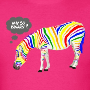 Rainbow Zebra T-Shirts - Men's T-Shirt