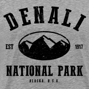 Denali National Park T-Shirts - Men's Premium T-Shirt