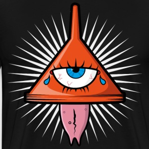 Illuminati insane logo - Men's Premium T-Shirt