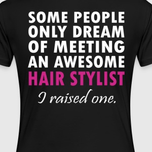 HAIR STYLIST'S MOM - Women's Premium T-Shirt