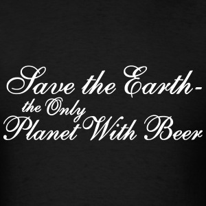 SaVE THE eARTH T-Shirts - Men's T-Shirt