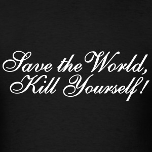 Save the World T-Shirts - Men's T-Shirt