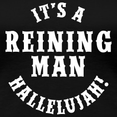 Reining Man Women's T-Shirts
