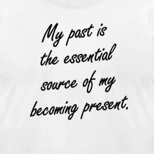 Past/Present - Men's T-Shirt by American Apparel