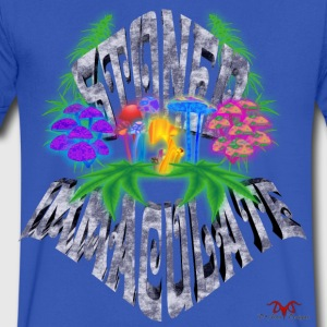 Stoned Immaculate - Men's V-Neck T-Shirt by Canvas