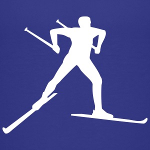Cross country skiing Kids' Shirts - Kids' Premium T-Shirt