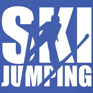 Ski jumping T-Shirts - Men's T-Shirt