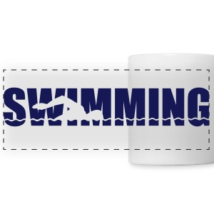 Swimming Mugs & Drinkware - Panoramic Mug