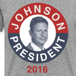 Gary Johnson 2016 T-Shirt - Men's Premium T-Shirt