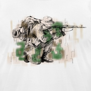 Soldier T-Shirts - Men's T-Shirt by American Apparel