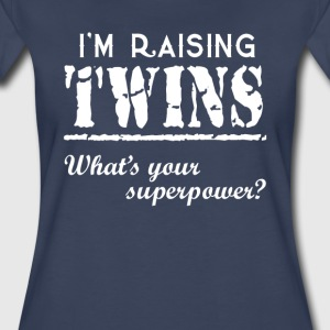 I'm Raising Twins - Women's Premium T-Shirt