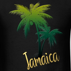 Palm Tree Jamaica T-Shirts - Men's T-Shirt