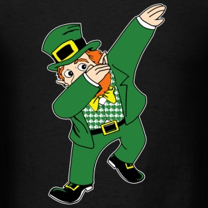 Dabbin Leprechaun T-Shirts - Men's T-Shirt