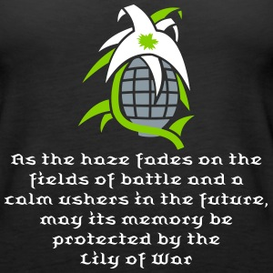 Lily of war vector Tanks - Women's Premium Tank Top