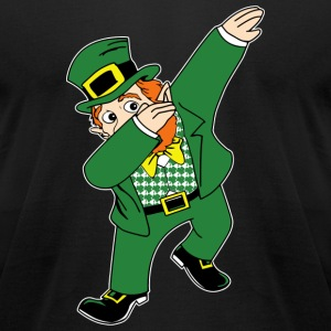 Dabbin Leprechaun T-Shirts - Men's T-Shirt by American Apparel