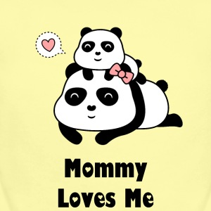 Panda Baby and Mommy bear Baby Bodysuits - Baby Short Sleeve One Piece