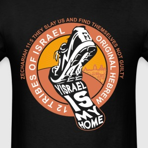 Yisrael Is My Home T-Shirts - Men's T-Shirt