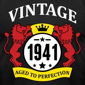 Vintage 1941 Aged to Perfection T-Shirts - Men's T-Shirt by American Apparel