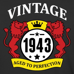 Vintage 1943 Aged to Perfection T-Shirts - Baseball T-Shirt