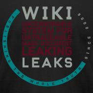 Design ~ WikiLeaks Supporter (incl $28.50 donation)