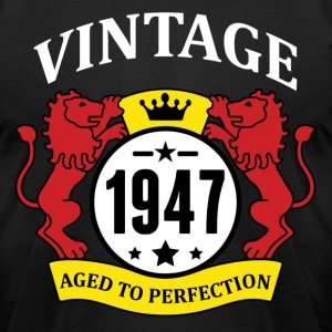 Vintage 1947 Aged to Perfection T-Shirts - Men's T-Shirt by American Apparel