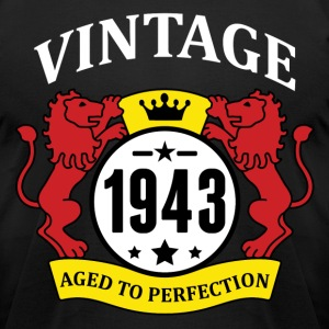 Vintage 1943 Aged to Perfection T-Shirts - Men's T-Shirt by American Apparel