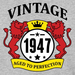Vintage 1947 Aged to Perfection T-Shirts - Baseball T-Shirt