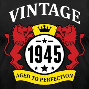 Vintage 1945 Aged to Perfection T-Shirts - Men's T-Shirt by American Apparel