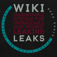 Design ~ WikiLeaks Supporter (incl $53.00 donation)