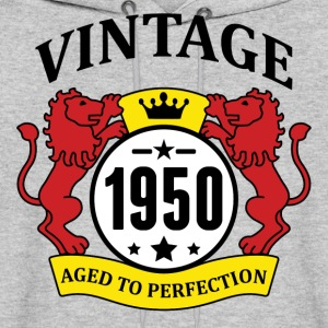 Vintage 1950 Aged to Perfection Hoodies - Men's Hoodie